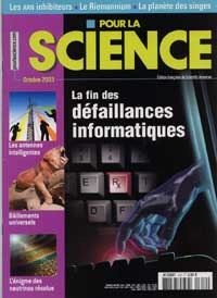pour la science no 312