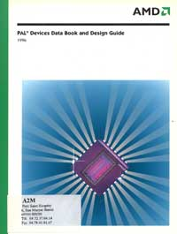 data book amd :pal devices 1996