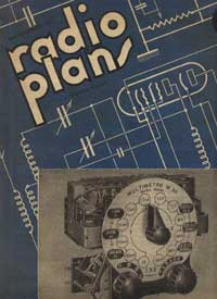 radio-plans cahier numero 1