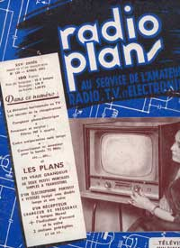 radio plans no 126 avril 1958