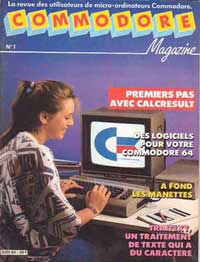 commodore magazine no1