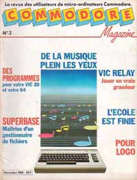 commodore magazine no3