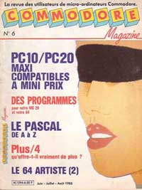 commodore magazine no 6